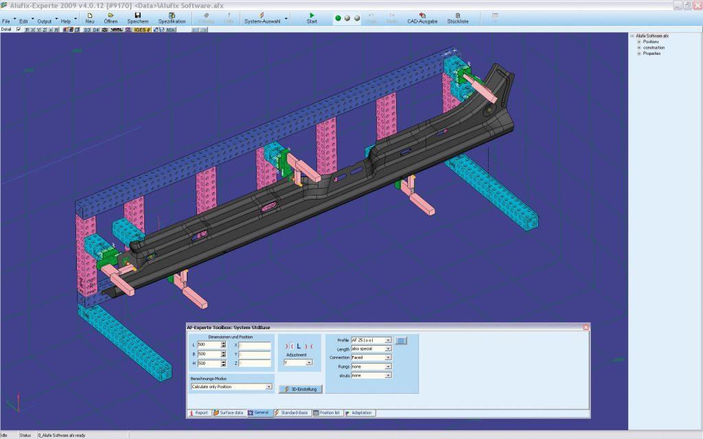 ALUFIX software - Successful programmes for design
