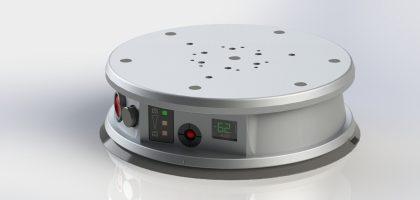 Autark einsetzbarer Vakuumfuß mit integriertem Vakuumerzeuger und Steuerelementen